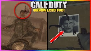 UNKNOWN Easter Eggs You DIDN'T KNOW WERE IN CALL OF DUTY!