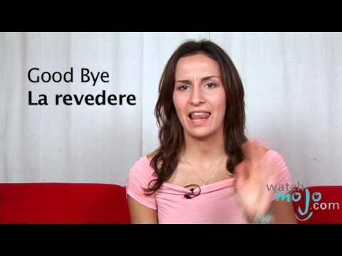How to say in romanian good bye youtube How to say goodbye in romanian
