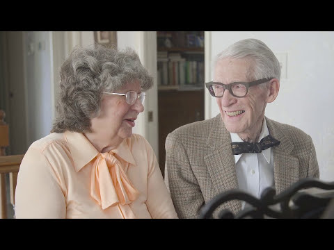 80-Year-Old Couple - A Duet In Music, A Duet In Life!