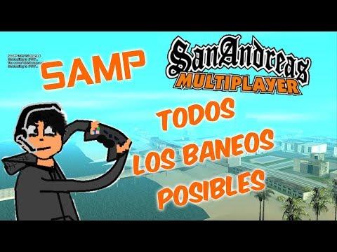 GTA SAMP TODOS LOS BANEOS POSIBLES [SAN ANDREAS MULTIPLAYER] thumbnail