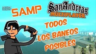 GTA SAMP TODOS LOS BANEOS POSIBLES [SAN ANDREAS MULTIPLAYER]