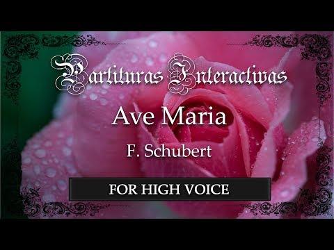 Ave Maria - F. Schubert (Karaoke - Key: C major) (Bonus track for high voice)