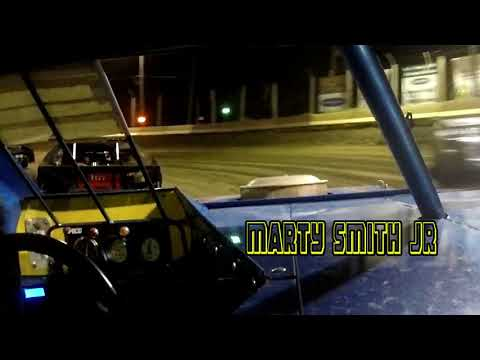 In Car Cam of Marty Smith Jr at Highland Speedway 8-18-18
