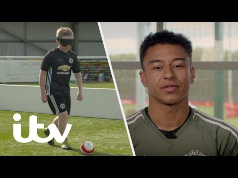 Jesse Lingard Has a Big Surprise for Young Man United Fan Duncan! | ITV