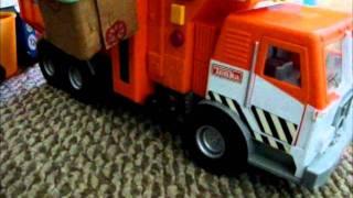 tonka side loader garbage truck