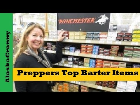 Preppers Top Barter Items for Economic Collapse