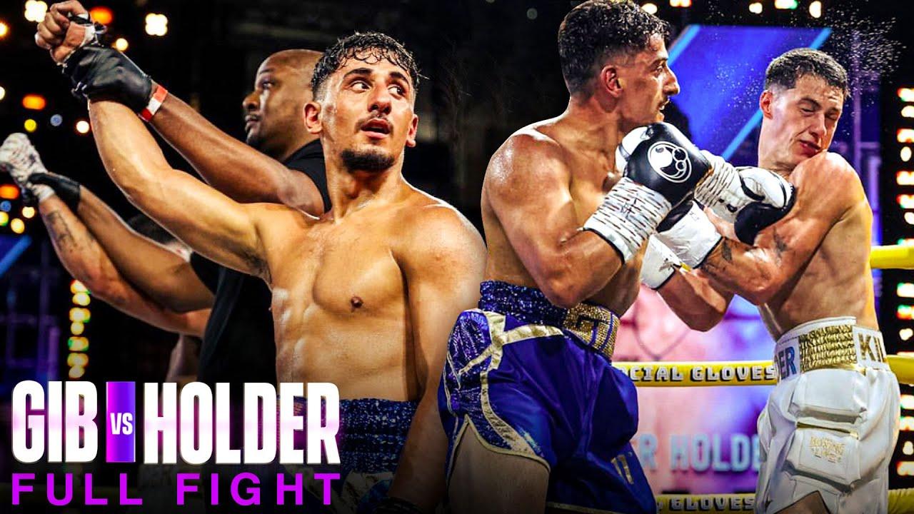 GIB VS TAYLOR HOLDER | FULL FIGHT