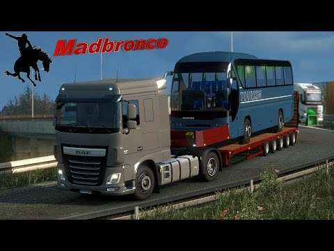 ets2 Driver for Hire ep24 - Panevezys to Plock (18t Neoplan Tourliner)