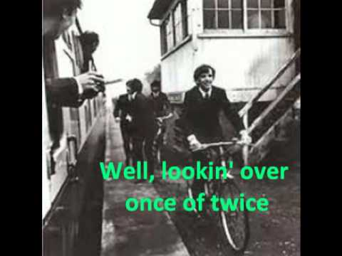 The Beatles- Ain't She Sweet (with lyrics)