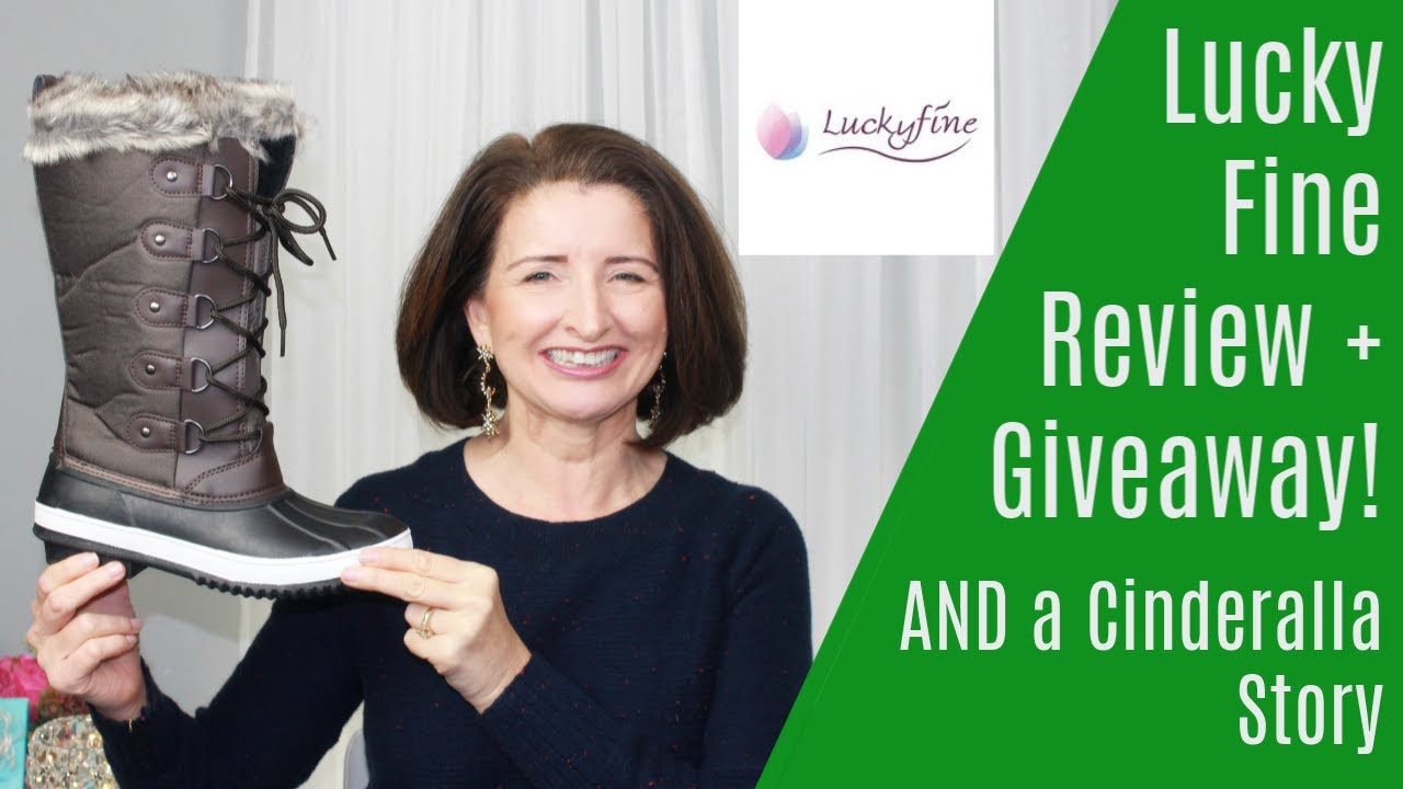 [VIDEO] - Lucky Fine Winter Snow Boot Review plus Giveaway! 6