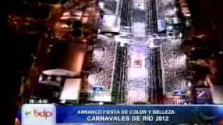 Desnudos completos de garotas causan polémica en Carnaval de Río