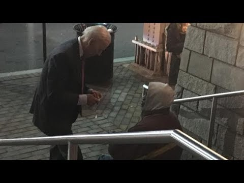 Joe Biden Shows Homeless Man Kindness Boosts 2020 Presidential Bid