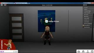 [Roblox] How to change picture in Bloxburg