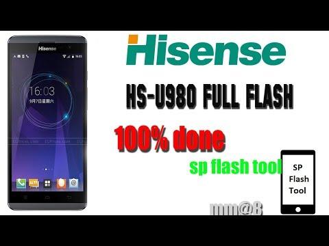 Hisense HS-U980 FULL FLASH 100% Working