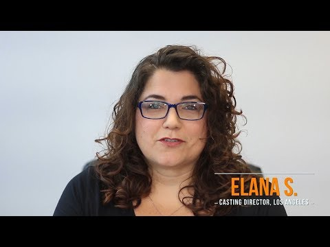 Casting SCANDAL - with Elana from Central Casting Los Angeles