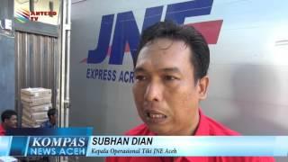 JNE TANGGAPI KELUHAN PELANGGAN | KOMPAS NEWS ACEH 13/01/2016