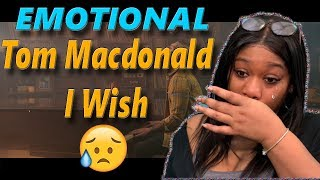 SHE CRIES😥 Mom reacts to Tom MacDonald - I Wish | Reaction