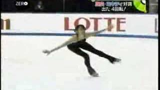 quadruple jump (Salchow) 安藤美姫 4回転ジャンプ