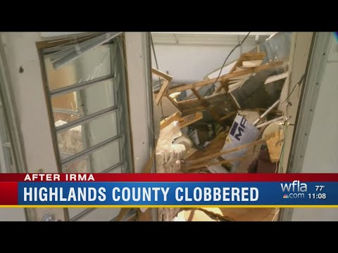 Highlands County clobbered by Irma