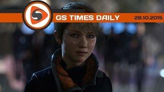 GS Times [DAILY]. Detroit: Become Human, GT Sport, Matterfall