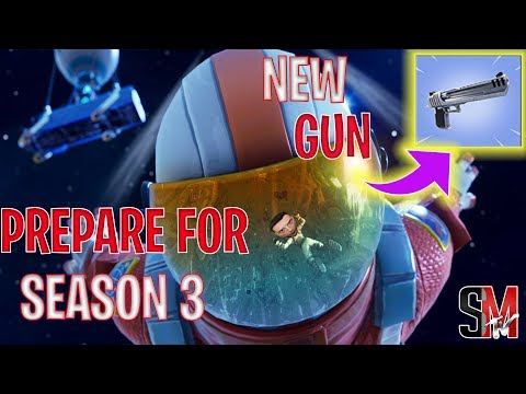 Preparing For Season 3- FORTNITE Squads -Battle Royale