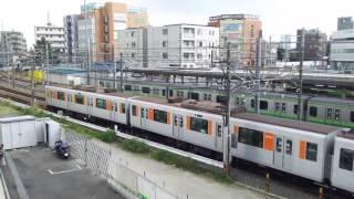 2分30秒で走行する4つの列車を楽しめる動画@長津田駅