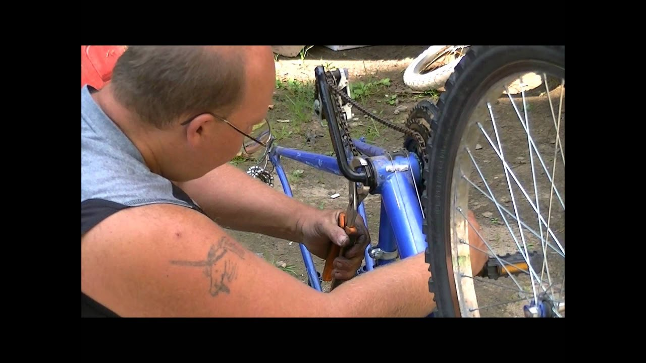 7065be59b1b how to change crank bearings on a bicycle - YouTube