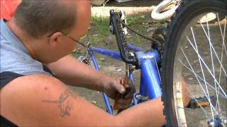 how to change crank bearings on a bicycle Video