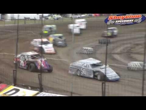 Sheyenne Speedway WISSOTA Midwest Modified Heats (9/30/18)