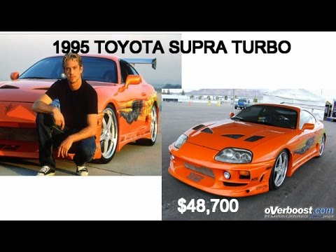 FAST FURIOUS Cars In Real Life And Price YouTube - Fast car price