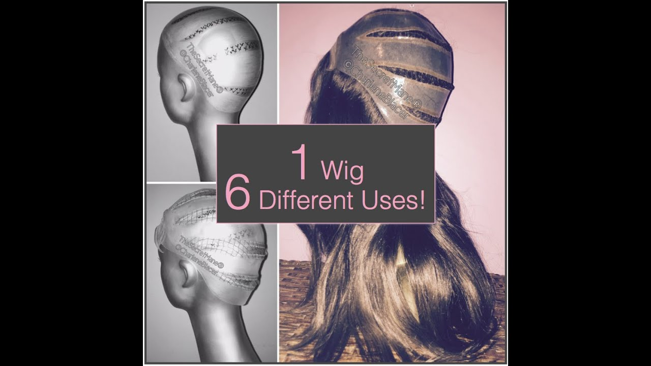 6 In 1 Hair Loss Wig Converts To Hair Extensions For Bald Spots