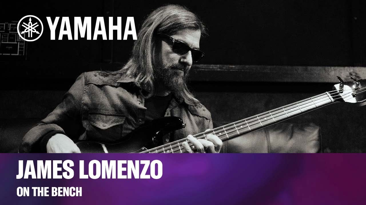 Yamaha | On the Bench | Artist Check-in with James LoMenzo (Live)