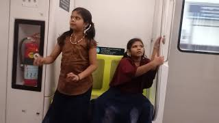 Funny Babies in cochin metro