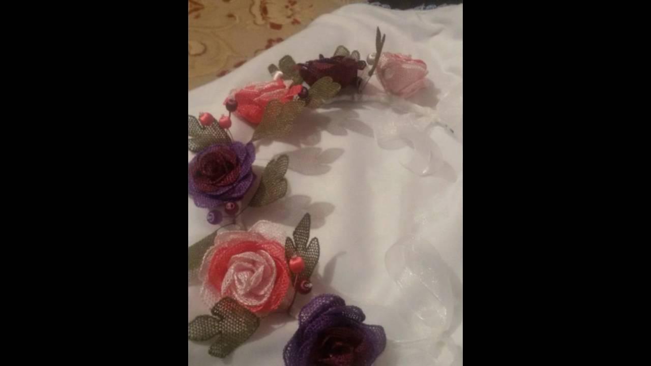 İğne Oyası Taç Çiçek Modeli Yapılışı Anlatımlı Videolu
