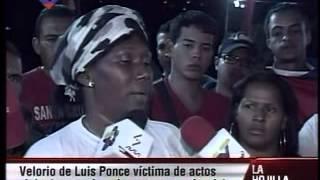 Vecinos de la Limonera acusan a Capriles y piden justicia por asesinato de José Luis Ponce