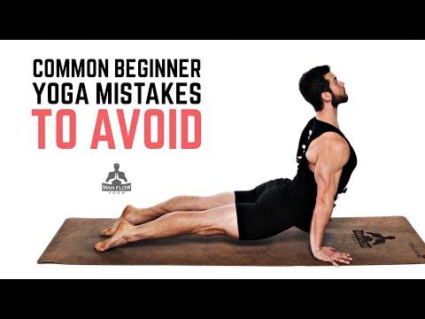 Common beginner yoga errors you should avoid