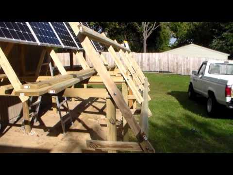 12 Panel Solar Mount