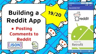 Posting Comments to Reddit [Build a Reddit App Part 19]