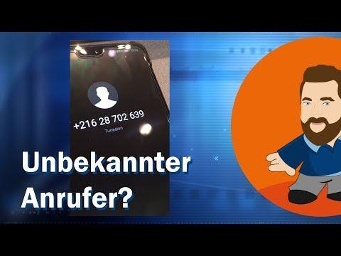 Unbekannter Anrufer? | Frag Felix