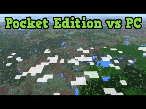 Minecraft PC vs PE & Windows 10 Edition Compared