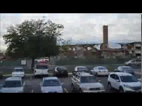 Mount Jordan Middle School Demolition 2013 in timelapse