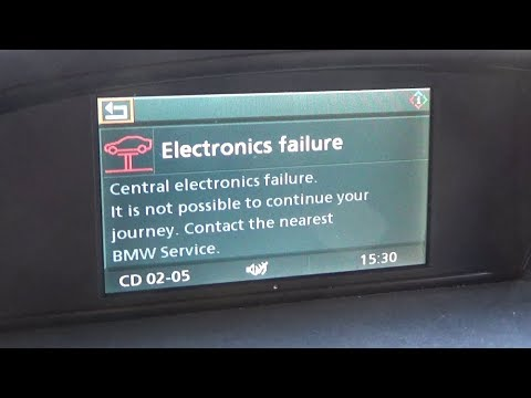 BMW E60 5SERIES Electronics Failure