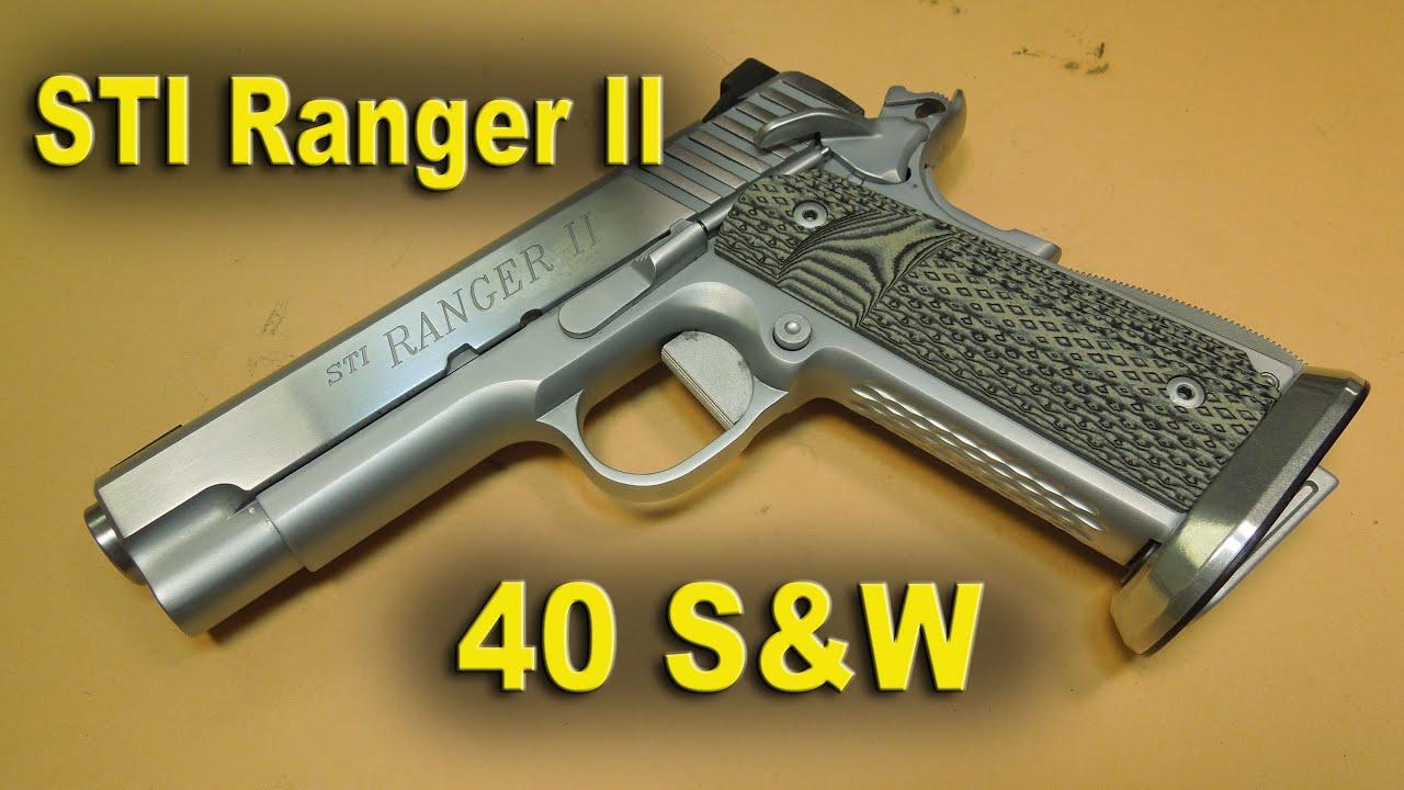 STI 1911 Ranger II Pistol Review