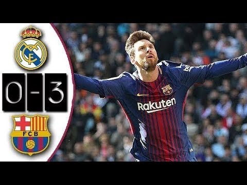 Real Madrid 0-3 Barcelona | Full Match | Partido Completo |