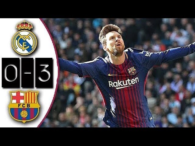 Real Madrid 0-3 Barcelona | Full Match | Partido Completo | Liga 2017/2018