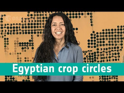 Earth From Space: Egyptian Crop Circles