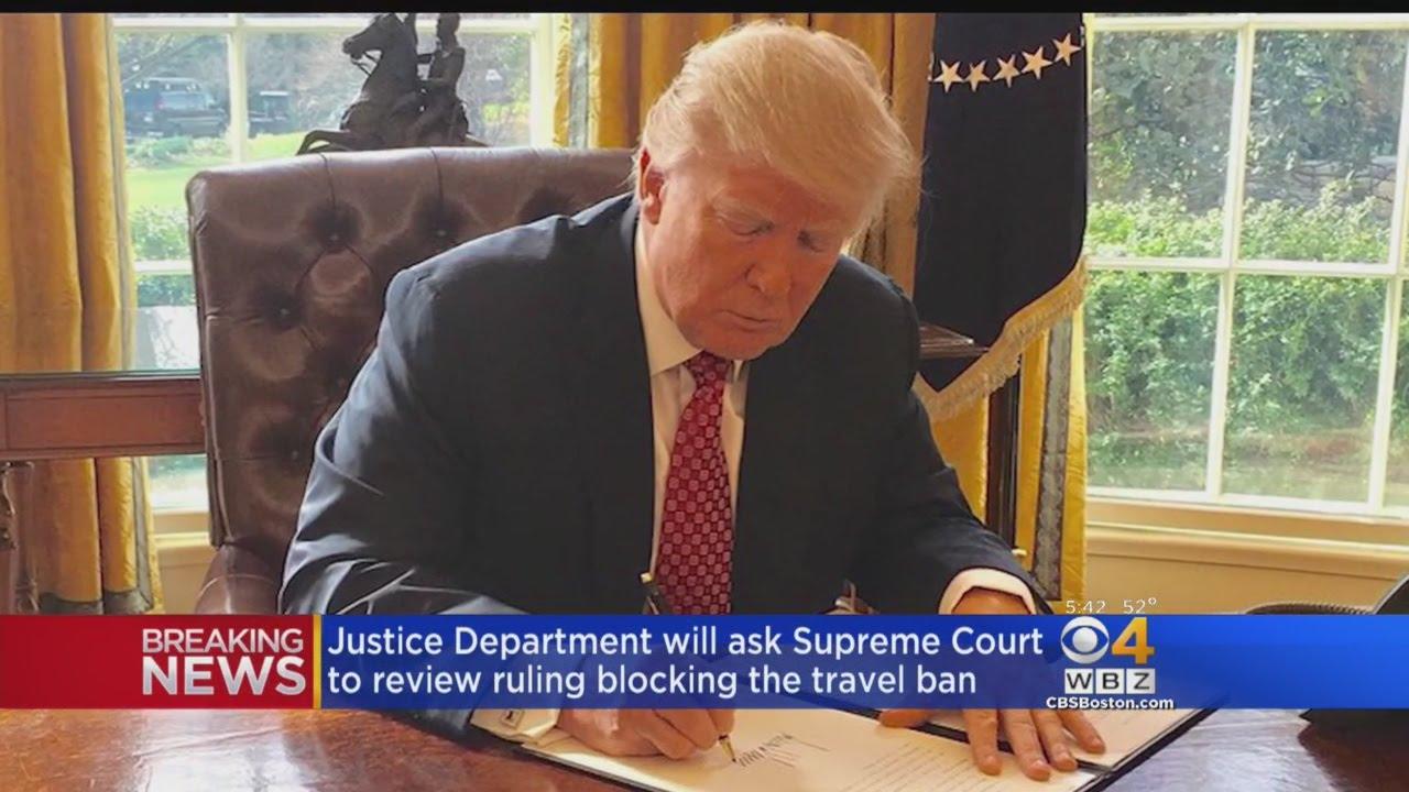 Justice Department asks Supreme Court to let Trump block his ...