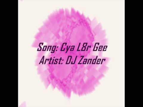 Cya L8r Gee - DJ Zander - Techno/Dance song