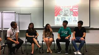 SUSS Panel Discussions on China Internships - OSG Talk#15 - 8 June 2018