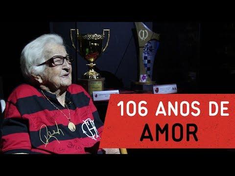 Dona Ida, 106 anos de amor ao Flamengo